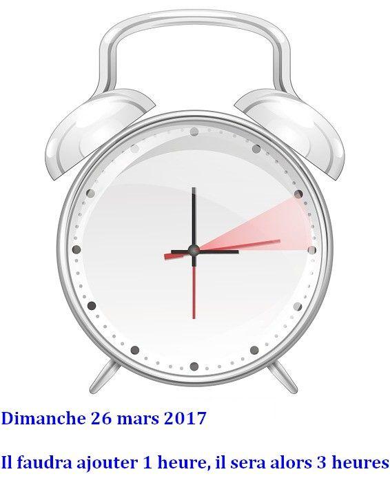 Ne ratez pas le passage l 39 heure d 39 t changement d 39 heure pour ce week end agate france - Date changement heure 2017 ...